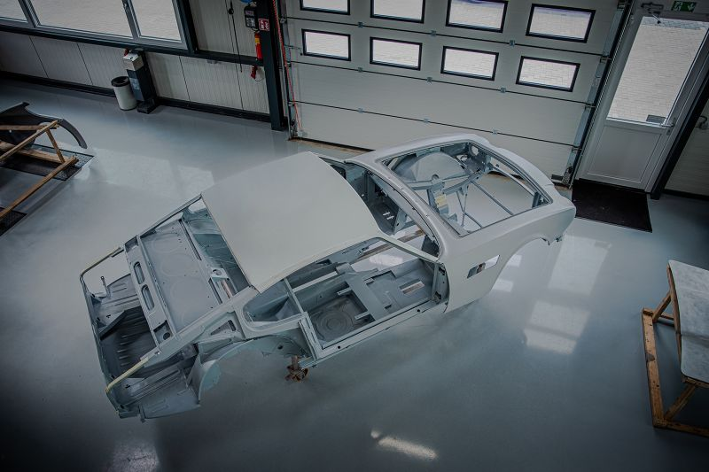 Restauratie project in beeld: Aston Martin V8 part I