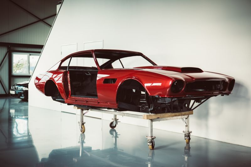 Restauratie project in beeld: Aston Martin V8 part II